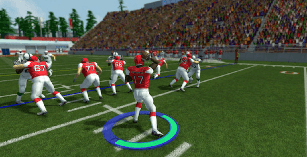 3 downs and 110-yard fields: This is the first-ever Canadian football video game
