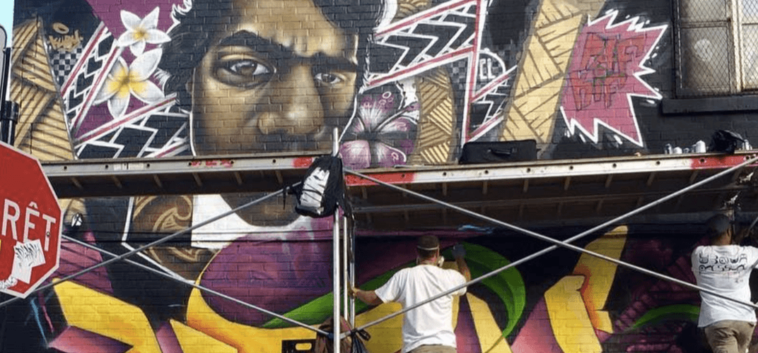 An epic 5-day graffiti and hip-hop festival is happening next week