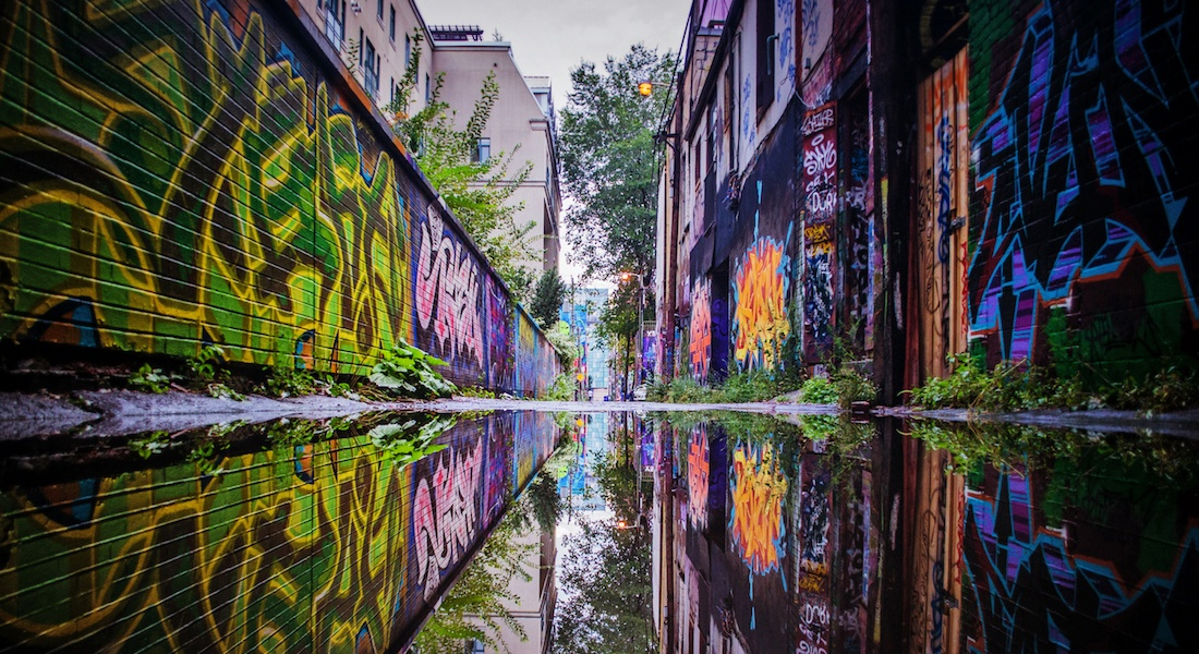 Graffiti Alley is throwing a big block party this weekend