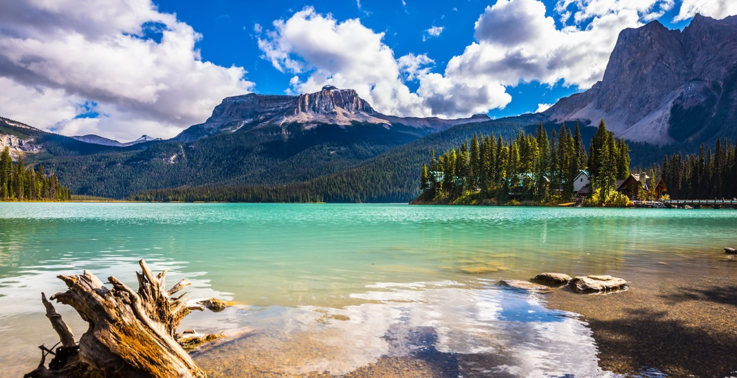 Beautiful BC: Emerald Lake is a shimmering gem
