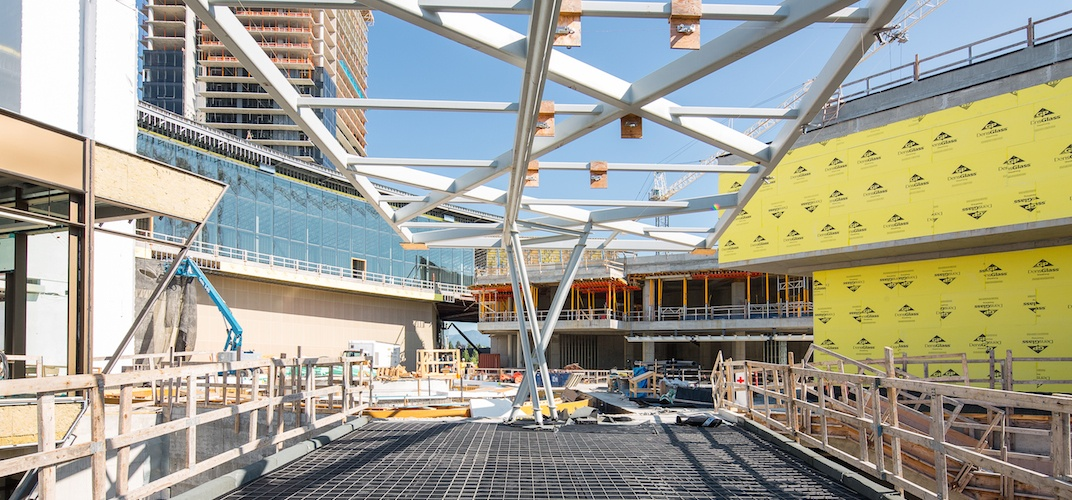 Metro Vancouver's new mega mall at The Amazing Brentwood on track to open in 2019 (PHOTOS)