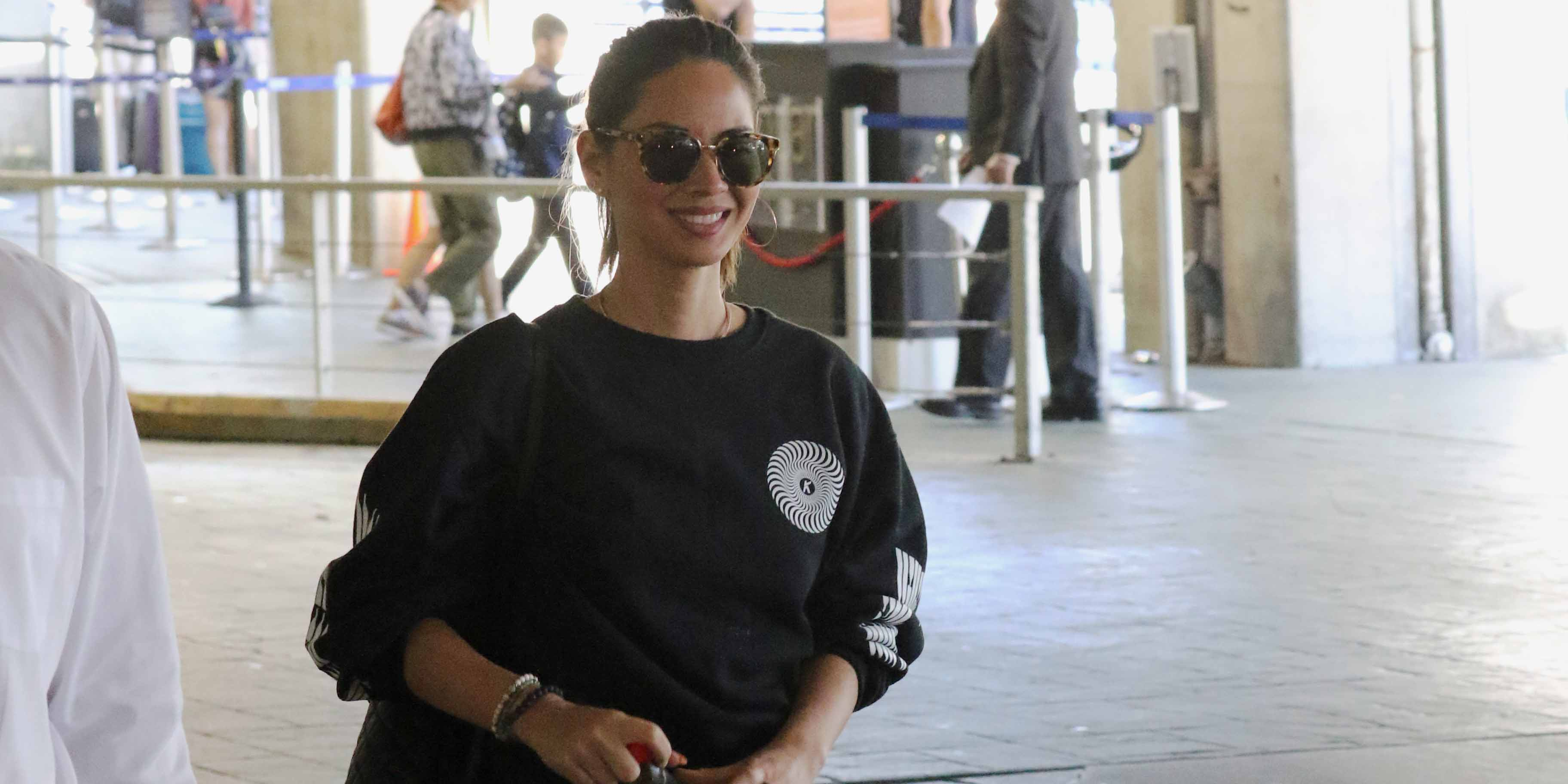 Olivia Munn arrives in Vancouver to film 'Six' (PHOTOS)