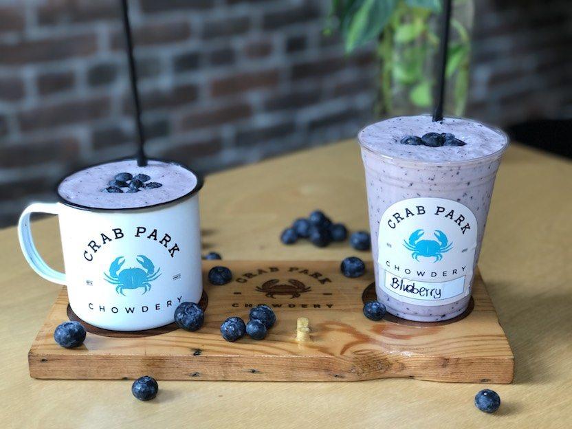 Crab Park Chowdery_Blueberry Blast Smoothie