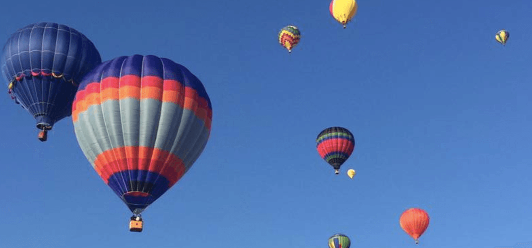 There's a massive hot air balloon festival outside of Montreal this month