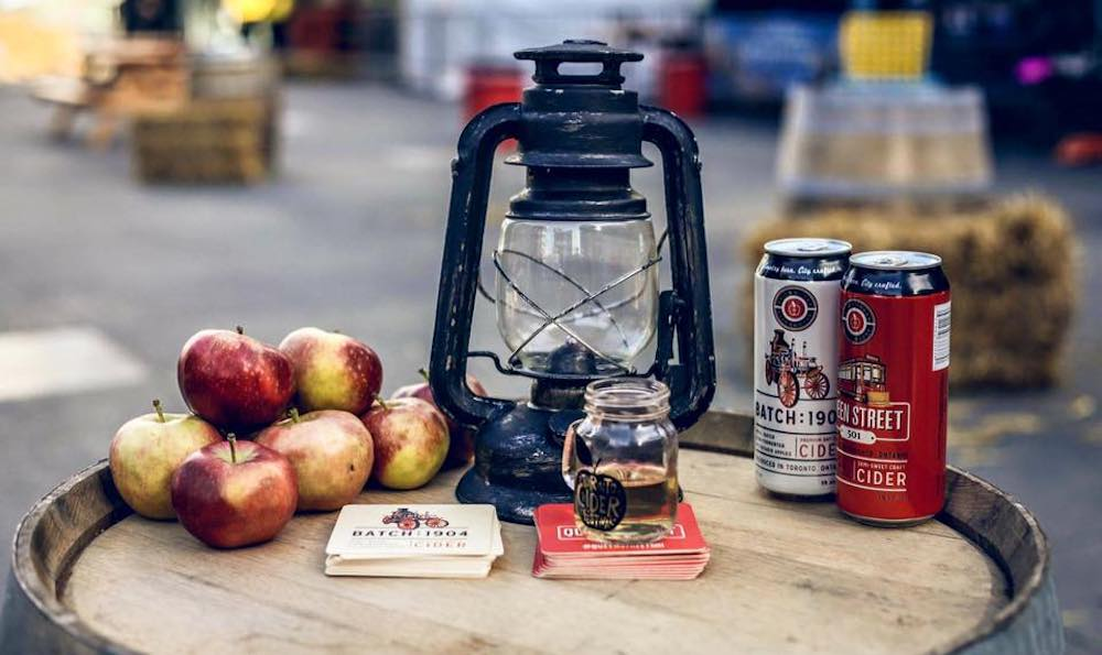 There's a delicious cider festival along Toronto's waterfront this month