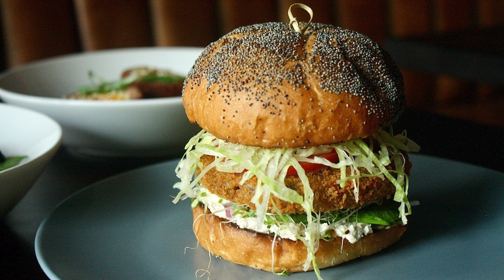 New restaurant The Ellis has one of the best veggie burgers in Vancouver