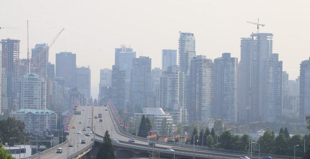 Smoky haze from BC wildfires may dull Vancouver heatwave