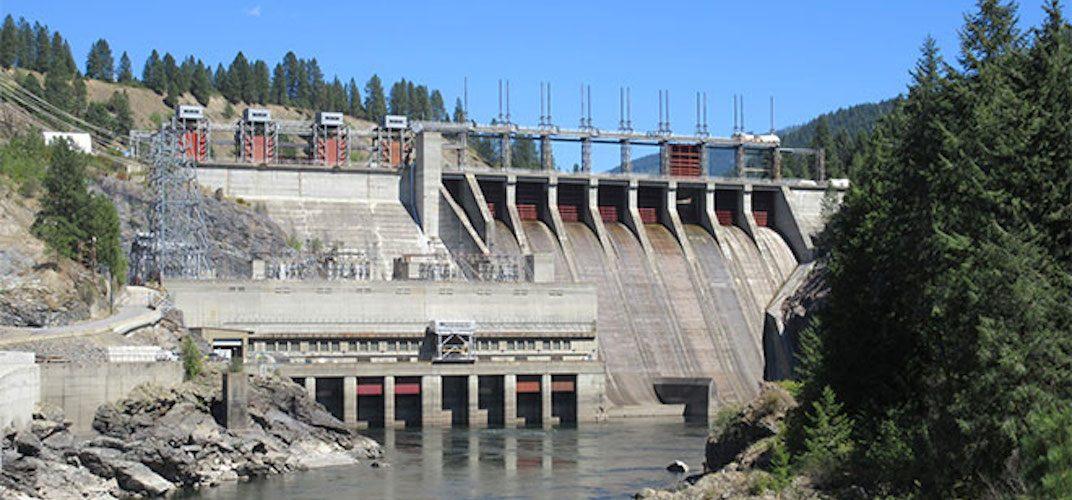Waneta dam generating station bc hydro