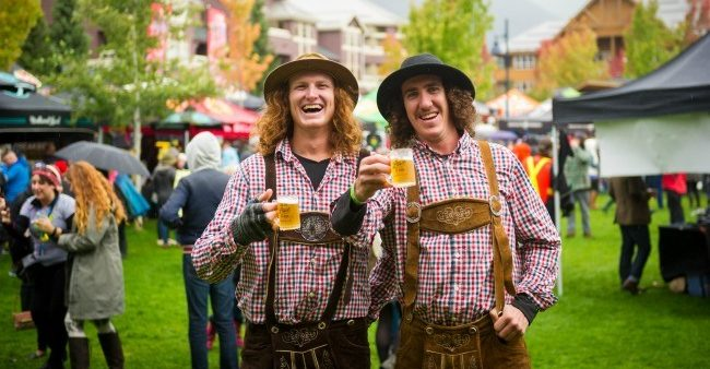 There's a huge craft beer festival happening in Whistler this September