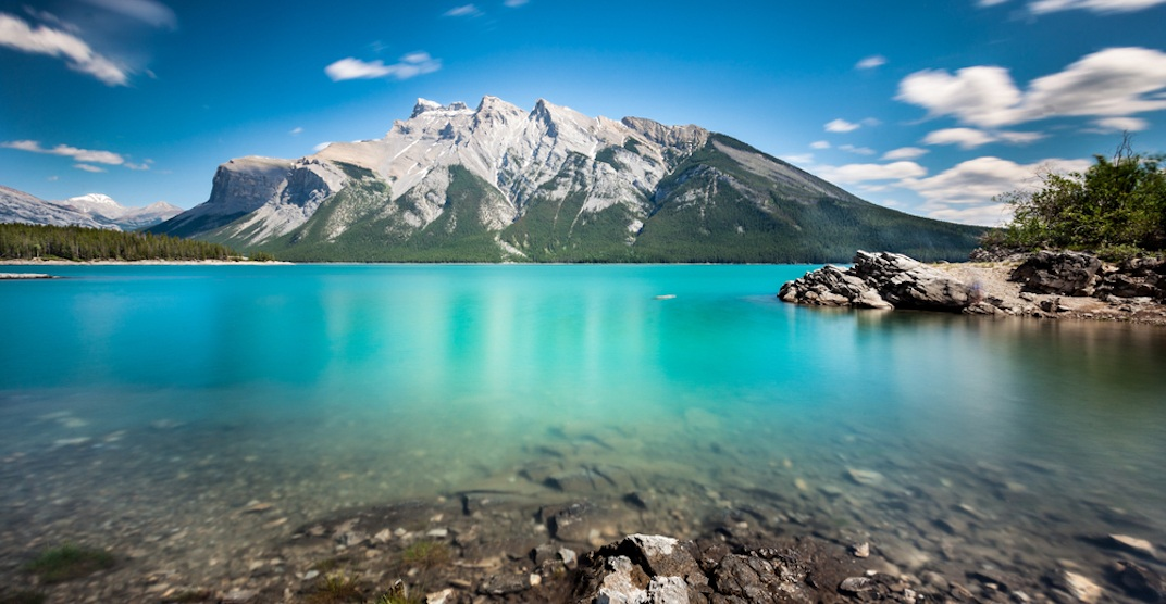 Awesome Alberta: The natural backdrop at Lake Minnewanka is unbelievable (PHOTOS)