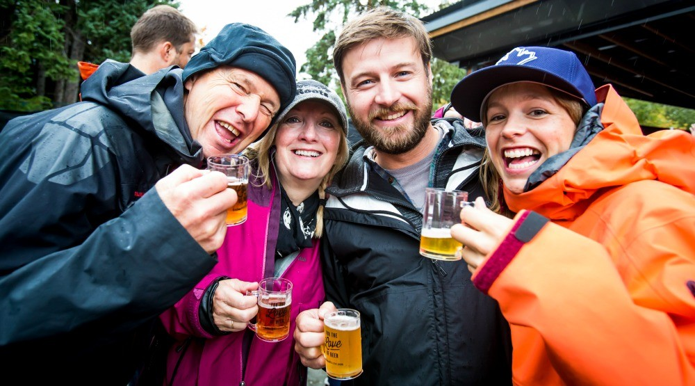 There's a massive craft beer festival coming to Whistler this September