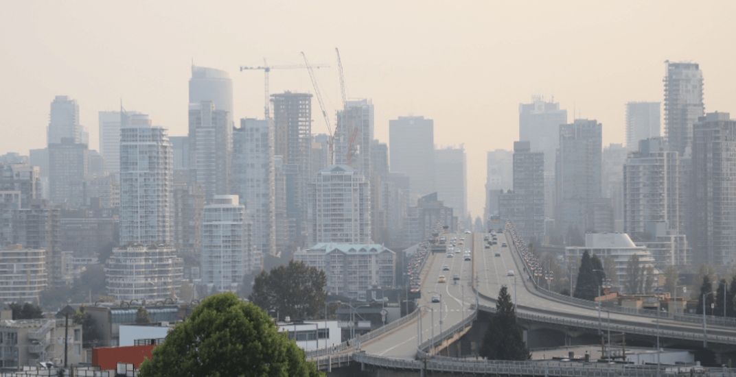 Wildfire smoke returns: Air quality advisory issued for Metro Vancouver