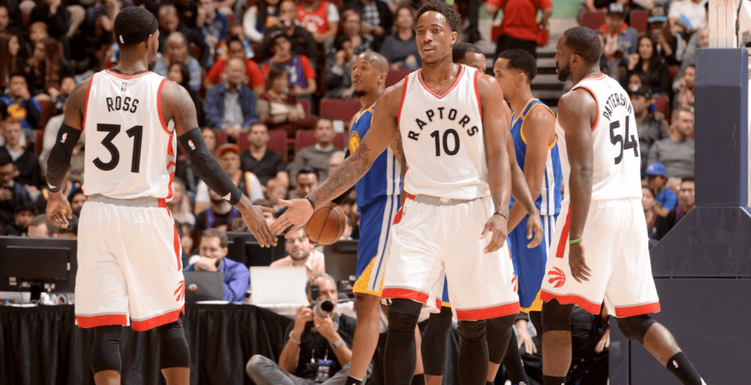 Raptors training camp heads to Victoria in 2017