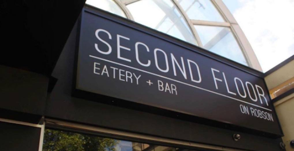 Second Floor Eatery + Bar quietly closes its doors in Vancouver