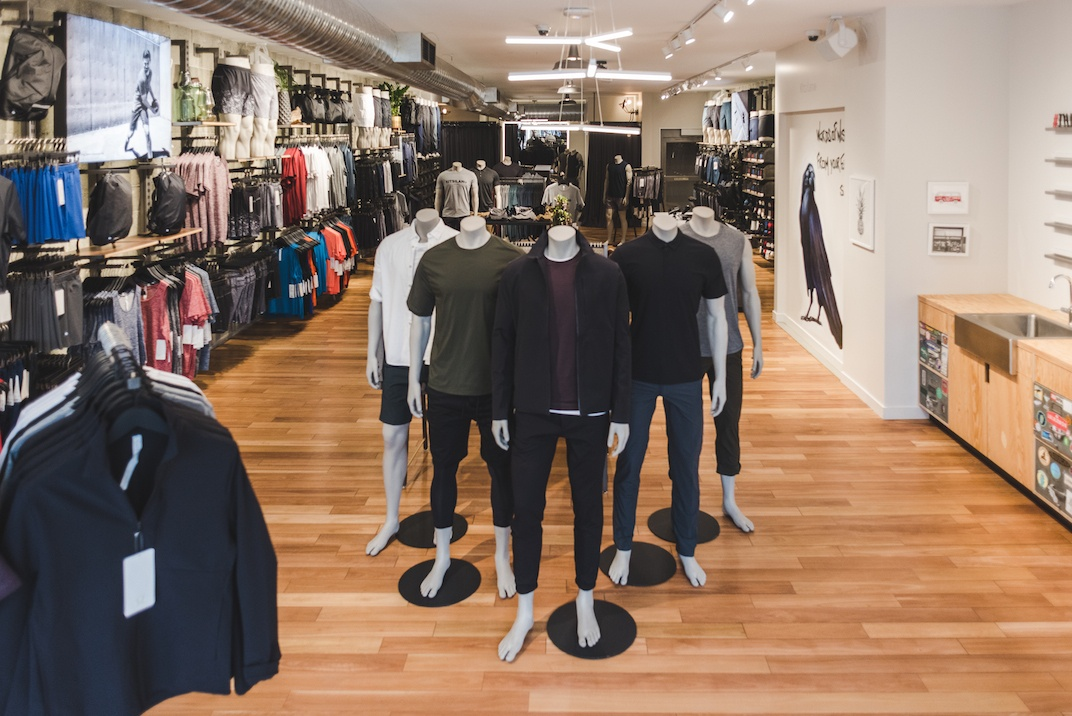 lululemon kitsilano 2101 West 4th avenue vancouver 1 lululemon reopens its first vancouver store with major expansion,Womens Clothing 4th Ave Vancouver