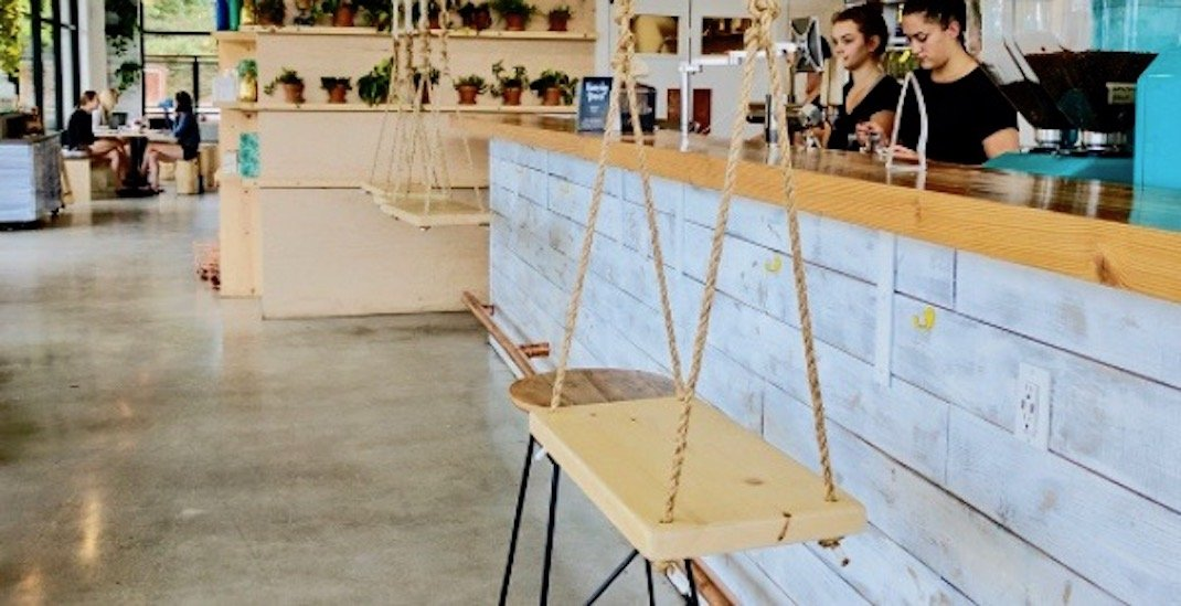 This North Van cafe has indoor swings and people are seriously pumped about it