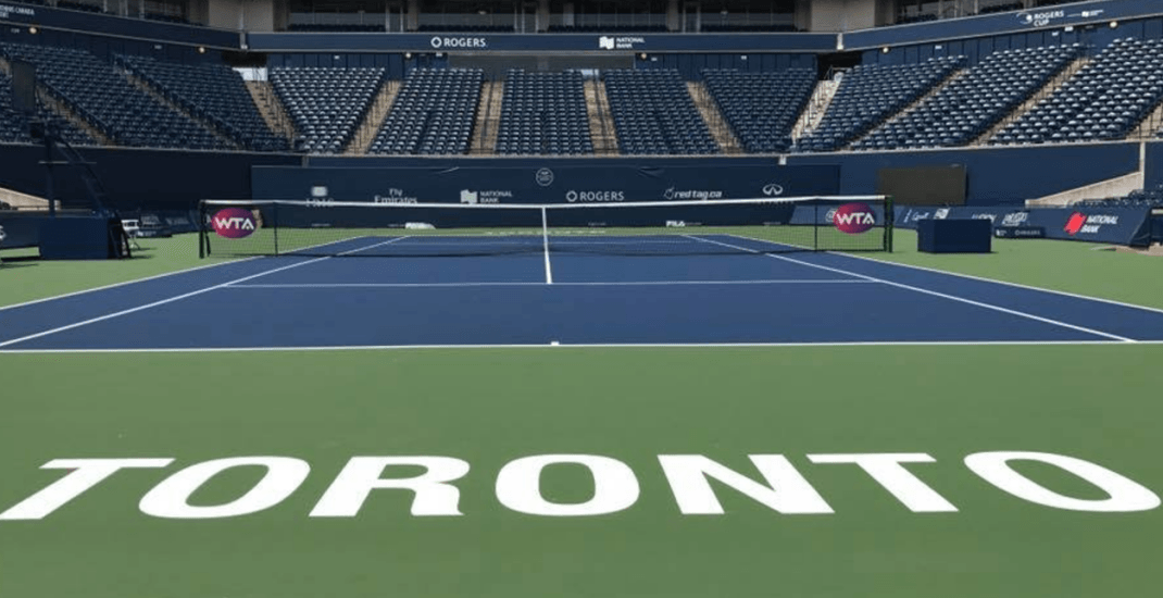 You can now get food delivered court-side at the Rogers Cup in Toronto