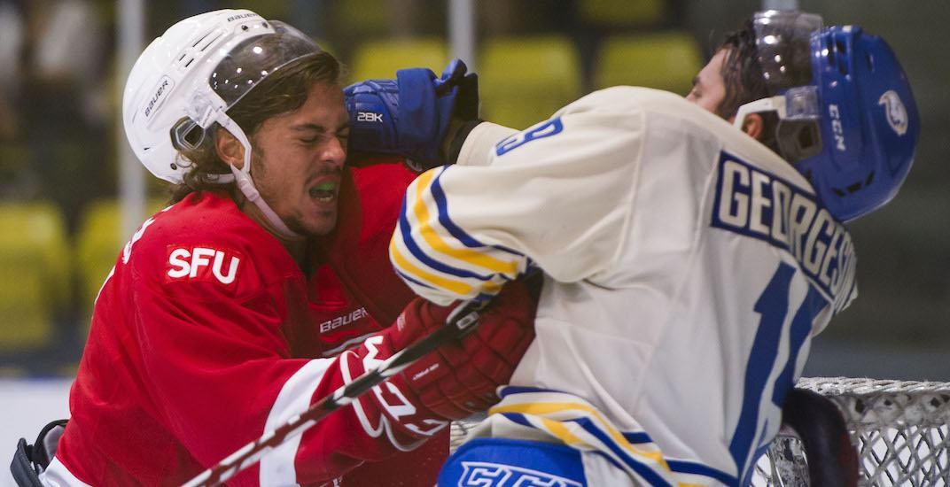 Sfu ubc hockey