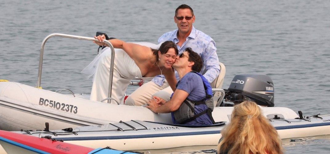 Justin trudeau vancouver island kayak 1