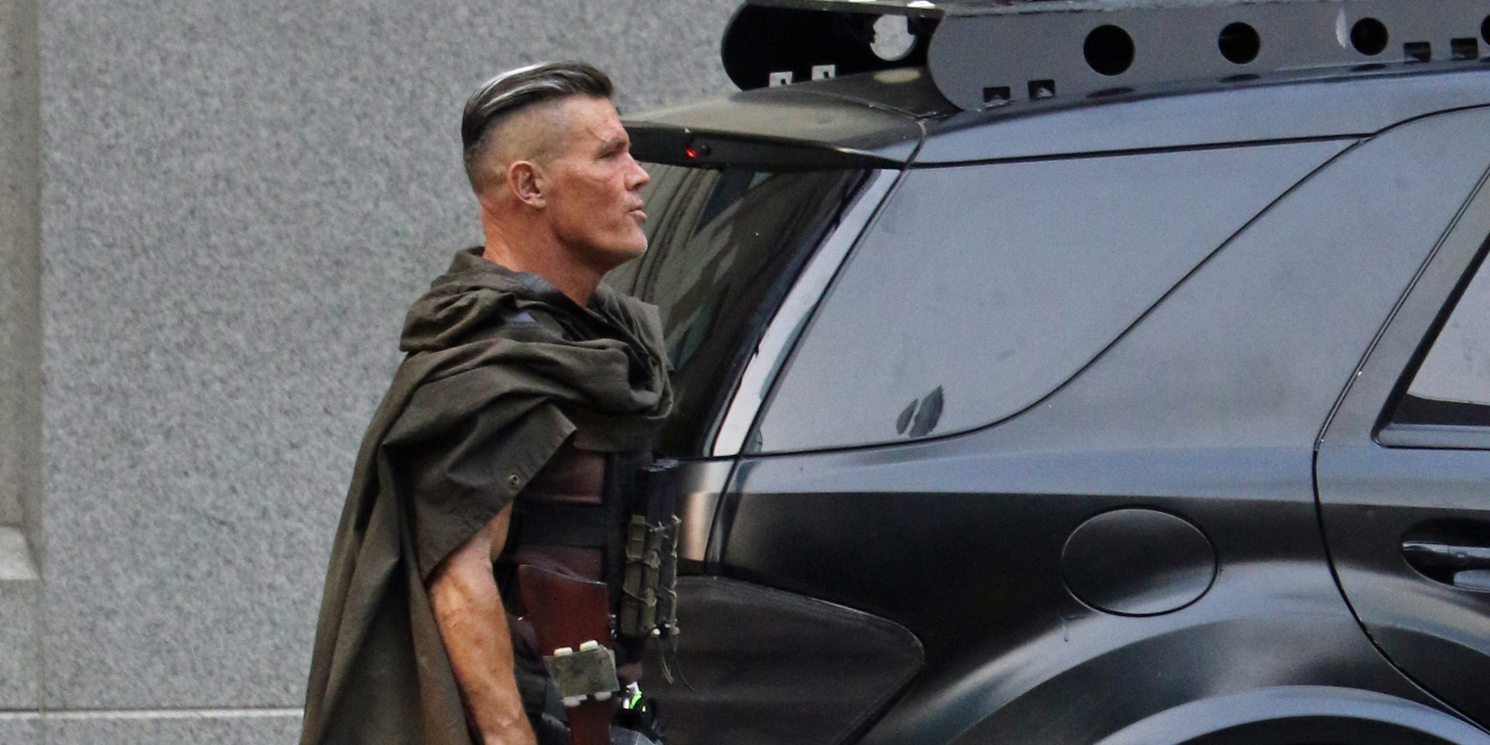 First Look: Josh Brolin films Deadpool 2 in Vancouver (PHOTOS)