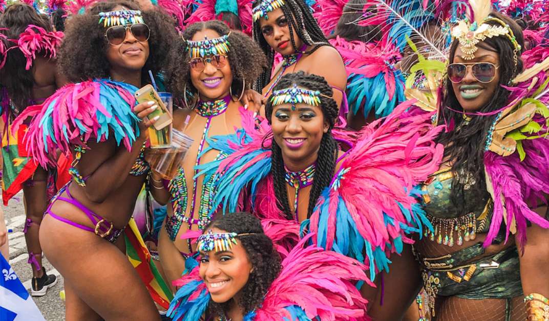 Toronto's Caribbean Carnival heats up the city despite the weekend weather (PHOTOS)