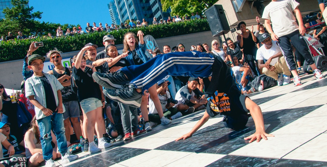 Here's what happened at the Vancouver Street Dance Festival (PHOTOS)