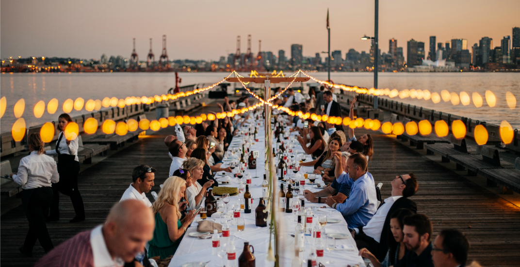 Tickets for North Vancouver's Dinner on the Pier are almost sold out