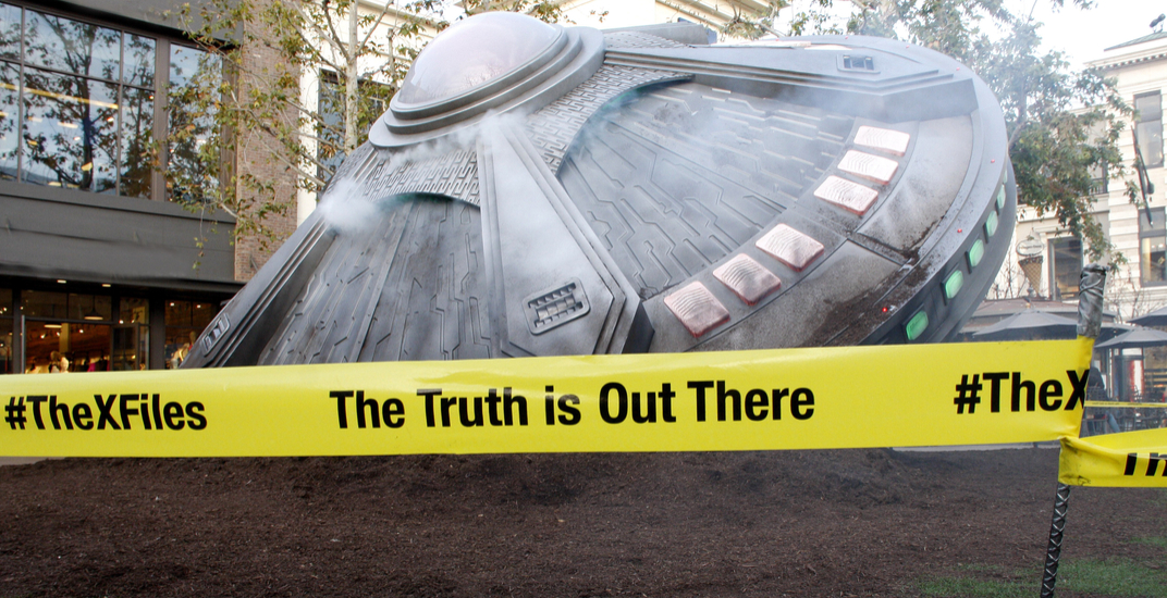Here's proof that 'The X-Files' is currently filming in Vancouver (PHOTOS)