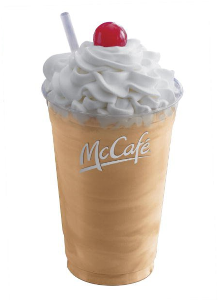 McDonald's Arctic Orange Shake