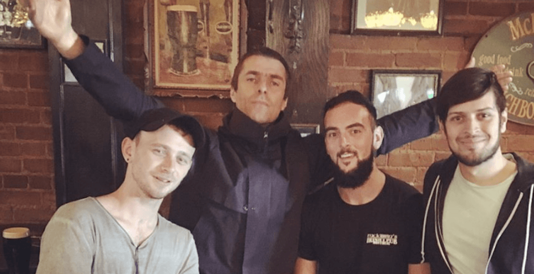Oasis' Liam Gallagher performs surprise show at Montreal pub (VIDEO)