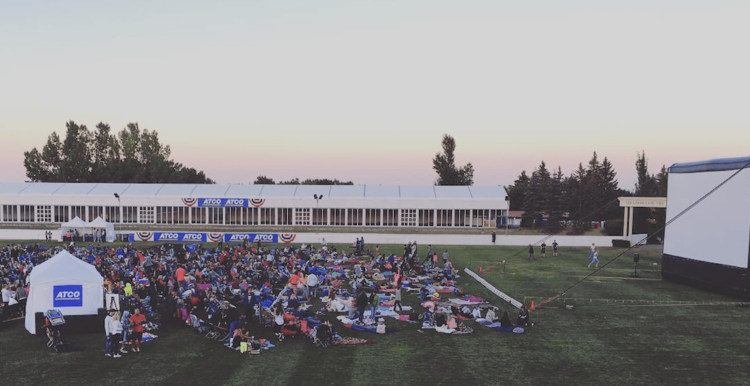 Outdoor movie fun with 'Back to the Future' at Spruce Meadows tonight