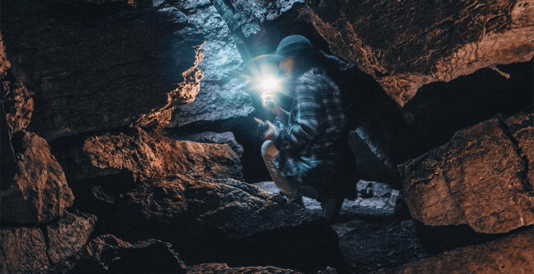 You can explore these incredible caves just two hours outside of Toronto