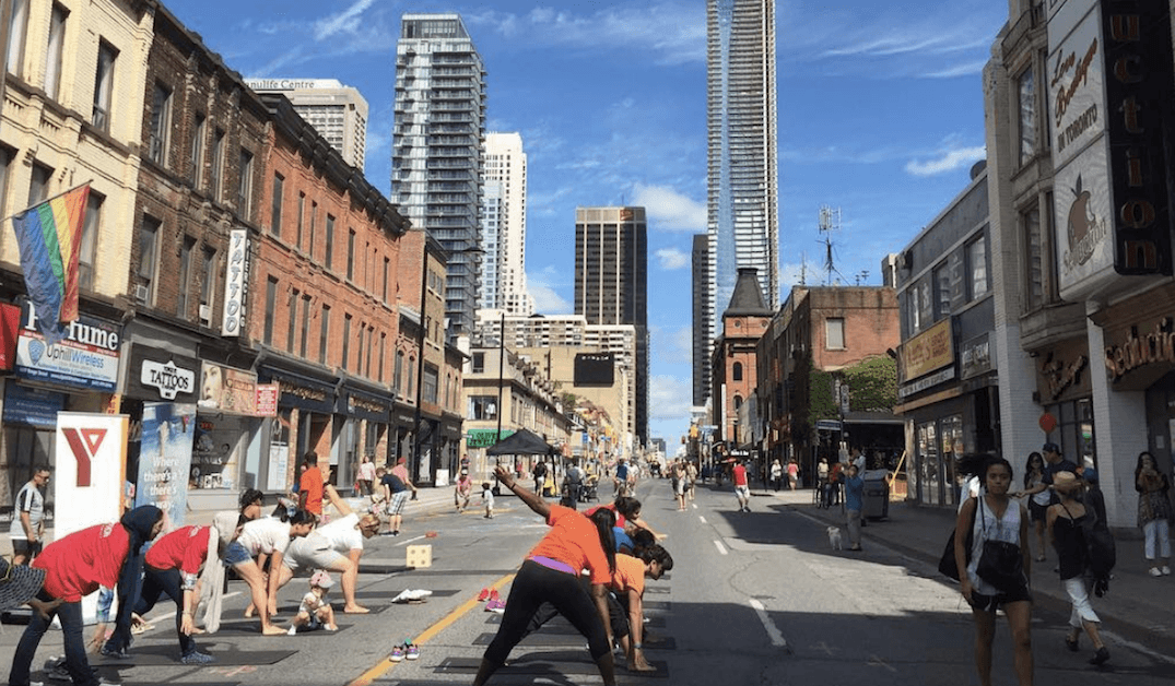 Open Streets bringing back 'paved parks' to Toronto this weekend