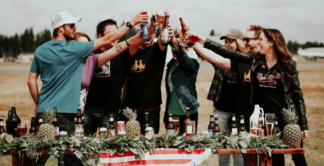 There's an outdoor craft beer festival hitting up Abbotsford this weekend