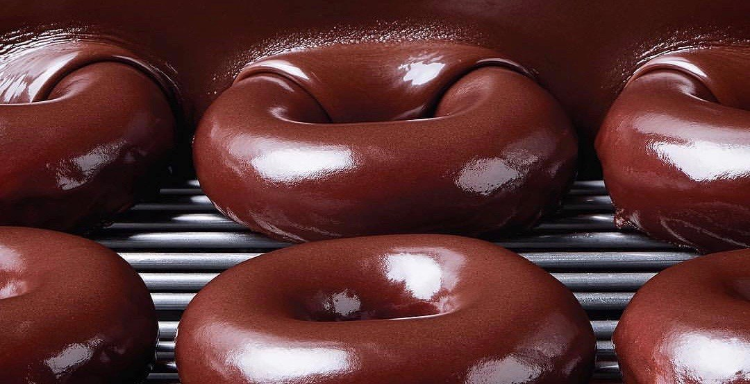 Krispy kreme chocolate 1