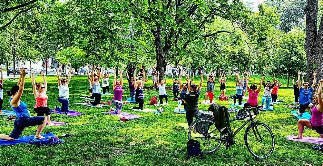 7 places to get a free workout in Toronto this summer
