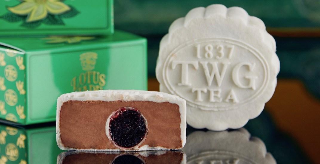 Twg tea pure snowskin mooncake
