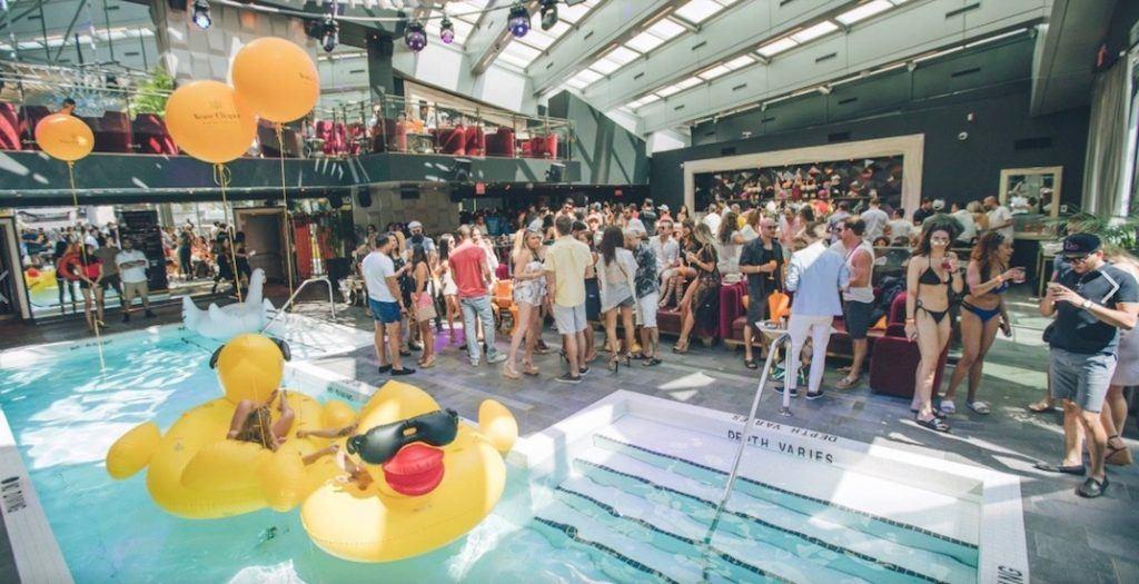 Drai's Vancouver_pool