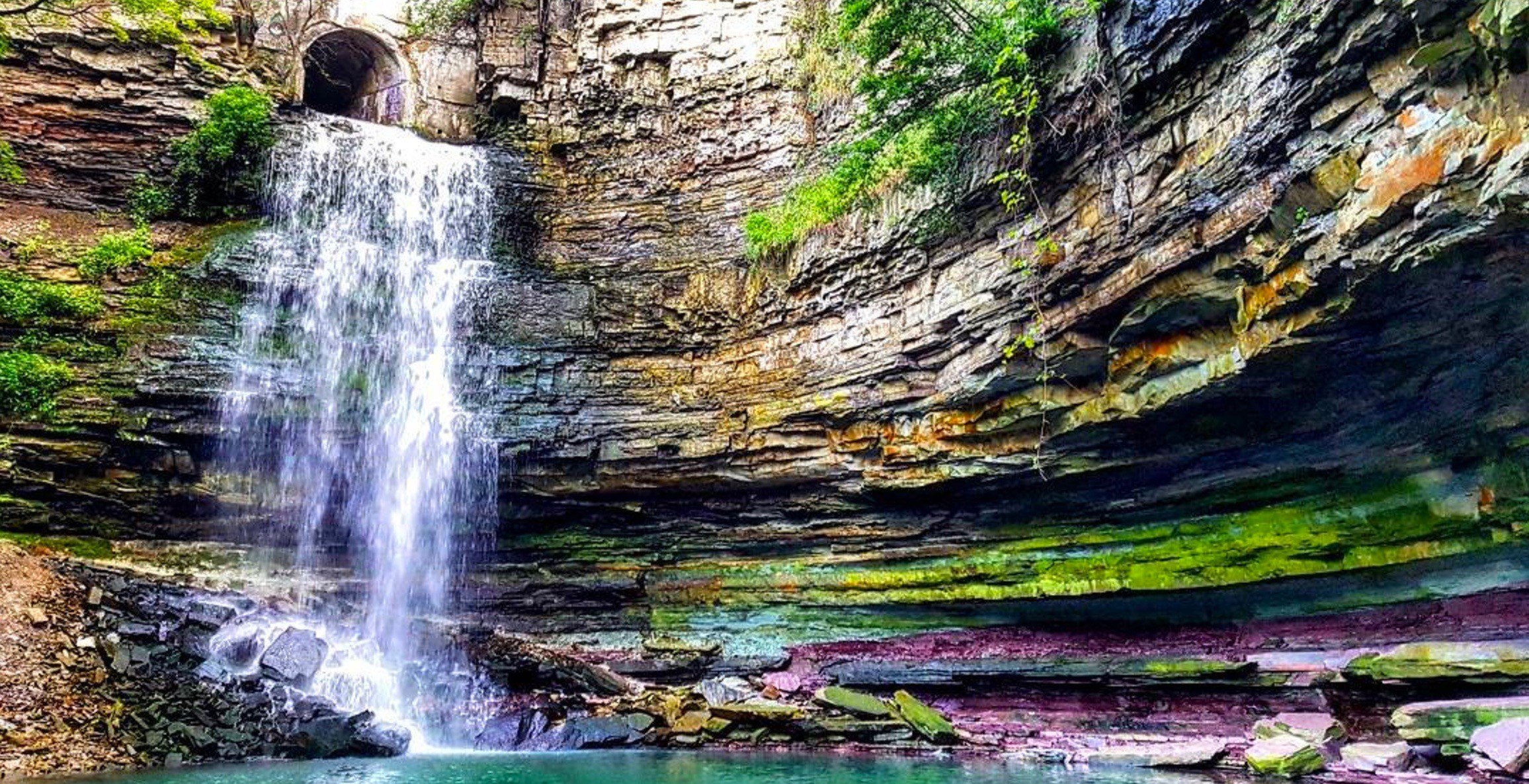 This beautiful waterfall near Toronto is definitely worth the hike