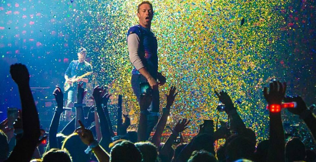 You can watch Coldplay's concert live in virtual reality this week