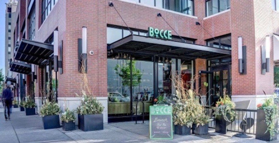 Closed: Bocce on 4th shutters due to hard economic times