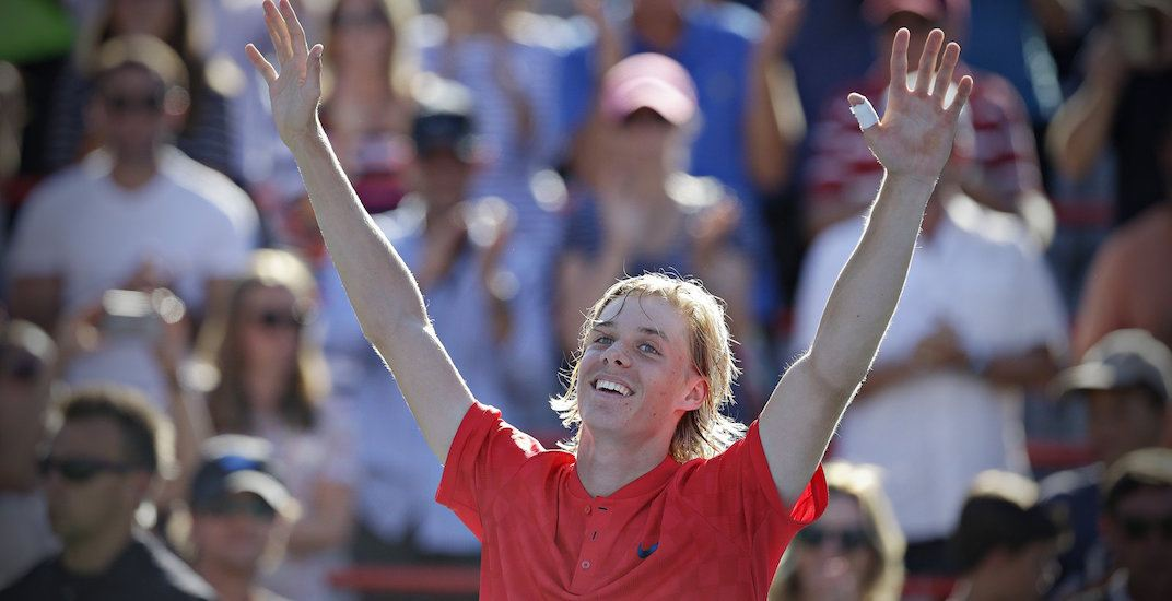 Shapovalov takes torch from injured Raonic at Rogers Cup