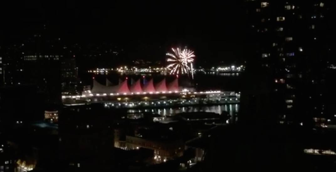 Surprise fireworks light up downtown Vancouver tonight (PHOTOS, VIDEOS)