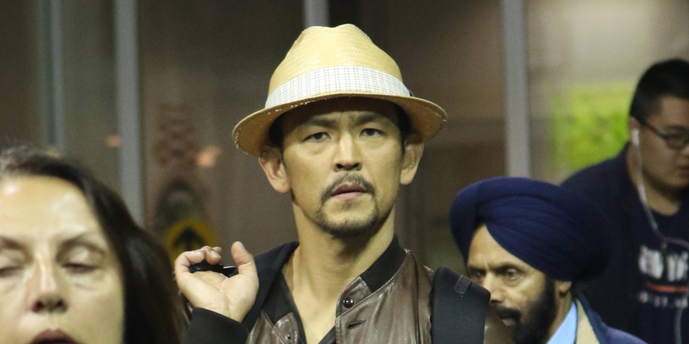 Spotted! John Cho arrives in Vancouver to film The Exorcist (PHOTOS)