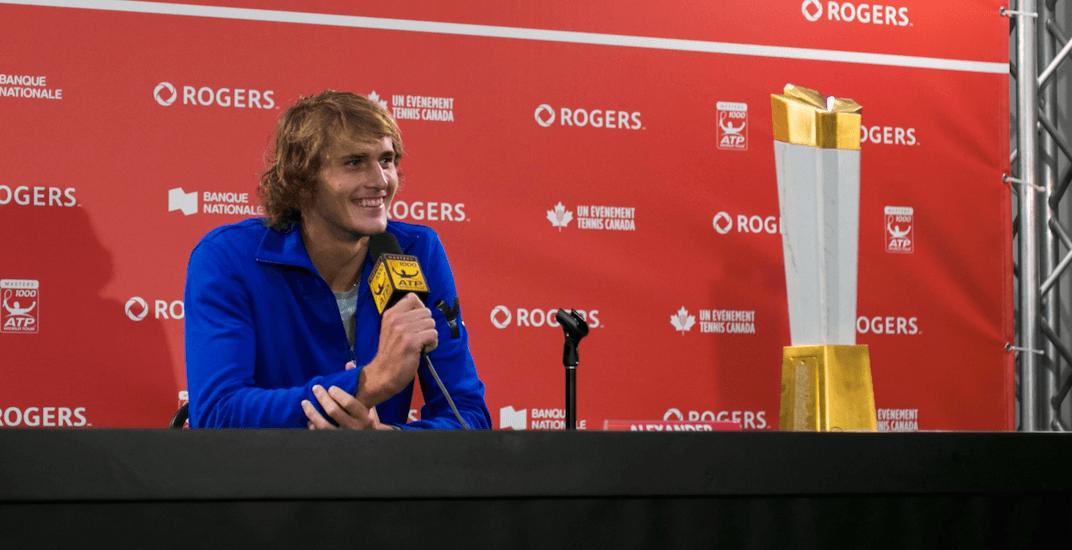 Alexander Zverev beats Roger Federer in Rogers Cup final