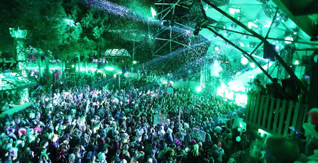 Shambhala music festival crowd