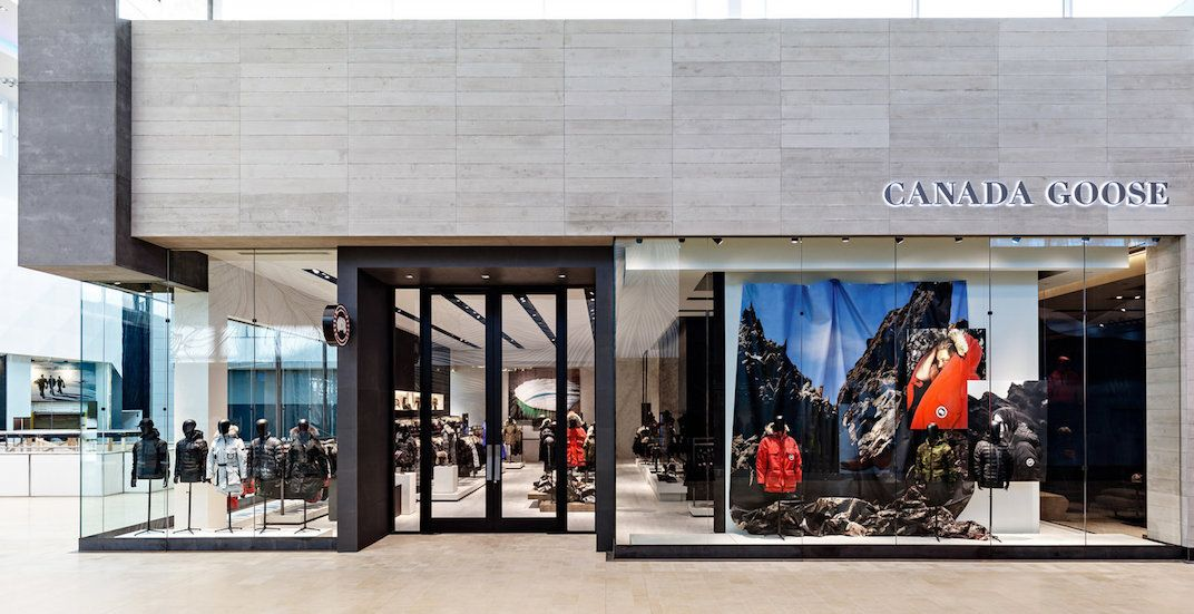 canada goose store in vancouver