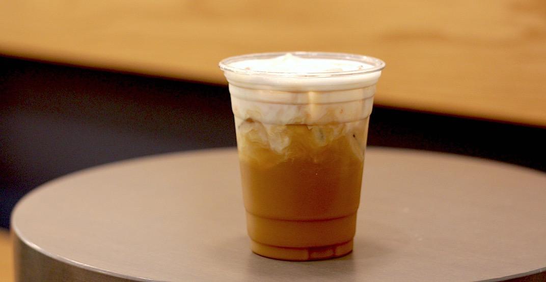 Monogram cold brew creamsicle