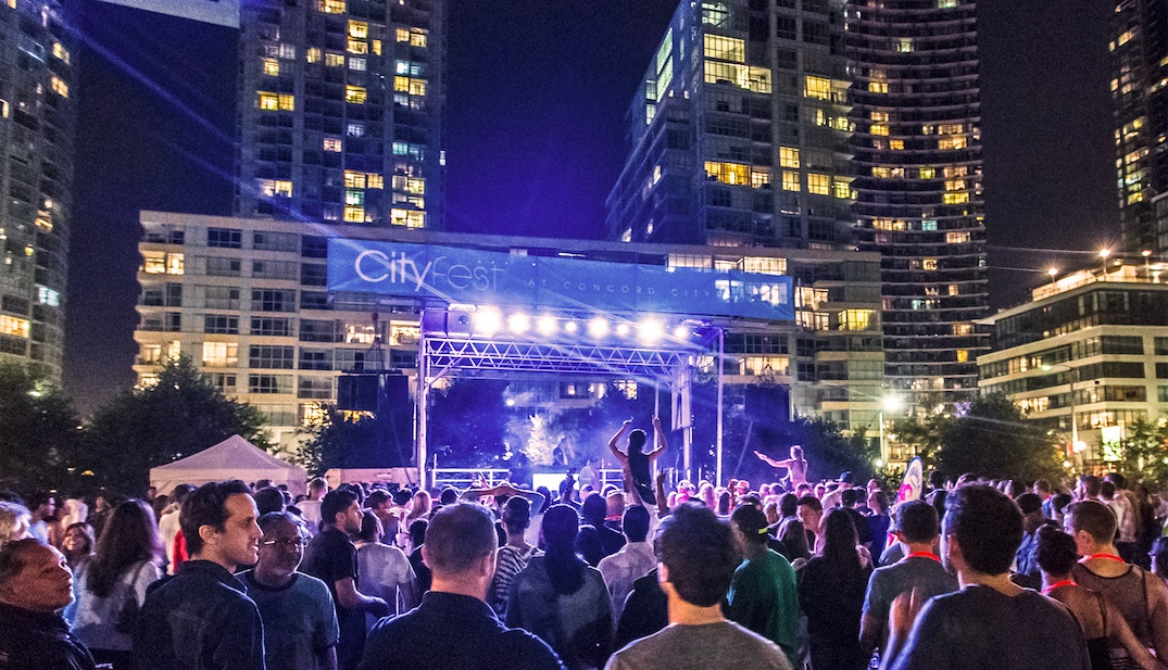 There's a free music and art festival at Canoe Landing Park this weekend