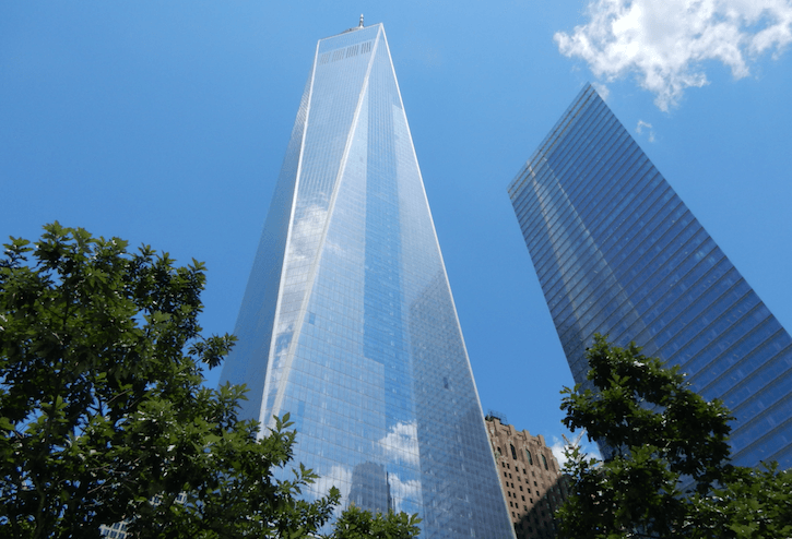 he One World Trade Centre (1WTC) is the tallest building in the Western Hemisphere (Simran Singh/ Daily Hive)